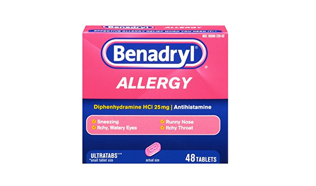 Can I Give My Cat Benadryl (Diphenhydramine HCl)?